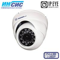 Купольная антивандальная камера видео наблюдения 2Mp, MT-DW1080IP20SE PoE