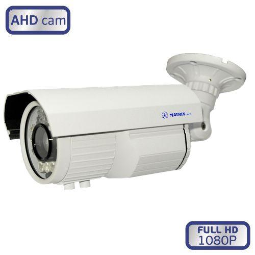 Уличная AHD камера видеонаблюдения 2Mp, MT-CW1080AHD80VSN